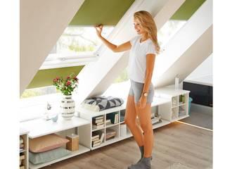 Wohnen unter dem Dach:   von FRANK Schranksysteme GmbH & Co. KG