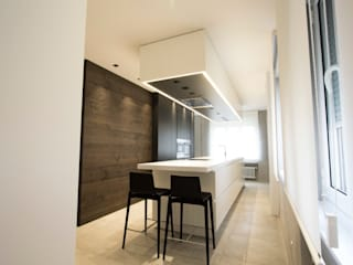 ห้องครัว by Bocetto Interiorismo y Construcción
