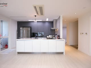 cocina Dapur built in Grey