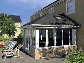 Replacement Tiled Conservatory Roofs de Oakley Green Conservatories