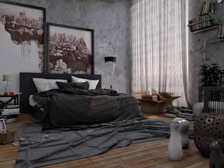 Innenvisualisierung:  Schlafzimmer von Archilize