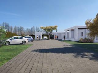 DMARQ - CASA COLLINS PEÑALOZA - IMG-01: Casas unifamiliares de estilo  por Dušan Marinković - Arquitectura