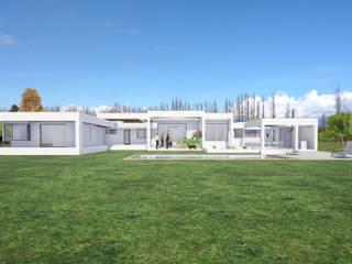 Casas unifamiliares de estilo  por Dušan Marinković - Arquitectura