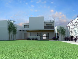 Vista trasera :  de estilo  por ACD arquitectos