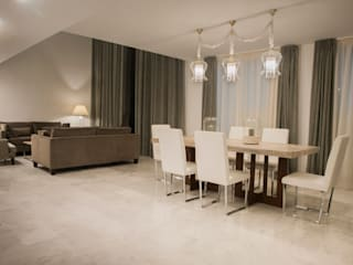 Modern dining room by MEDITERRÁNEO ESTUDIO DECOR S.L Modern