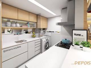 Projeto de interiores:   por Letícia Saldanha Arquitetura