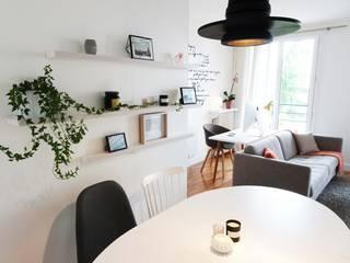 Salas de jantar escandinavas por Sandrine Carré Escandinavo