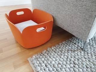 3 pièces - Fontenay-sous-Bois Salon moderne par Sandrine Carré Moderne