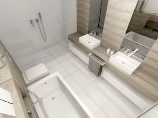 Łazienka: styl , w kategorii  zaprojektowany przez pracownia Concept