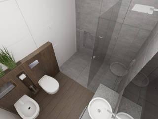 Łazienka w brązach od pracownia Concept