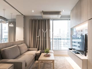 Sathorn house condo : Room 80 โดย JYM interiordesign