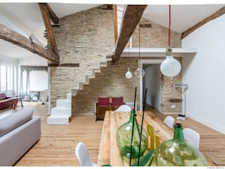 TALLER VERTICAL Arquitectura + Interiorismo Eclectic style dining room