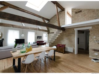 TALLER VERTICAL Arquitectura + Interiorismo Modern Dining Room