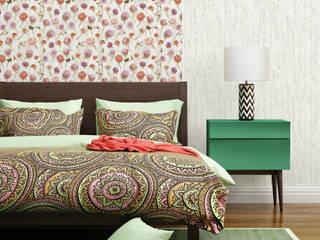 Blumentapete - Florale Tapeten:  Wände von dasherzallerliebste,Landhaus