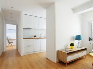 Livings de estilo escandinavo por Noelia Villalba