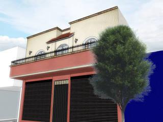 casa mina: Casas unifamiliares de estilo  por WIGO SC