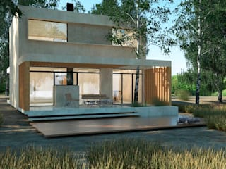 Single family home by IMAGENES MR, Modern