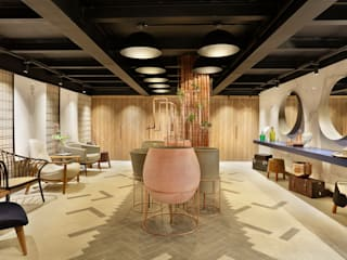 Baños de estilo  por TRIDI arquitetura