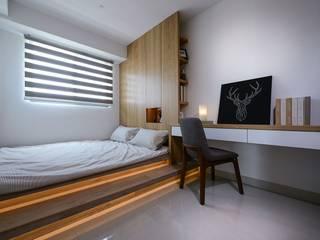 臥室C 根據 見本設計 現代風