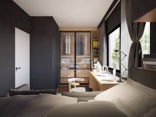 Residence Rama IX:   by Stushio Design