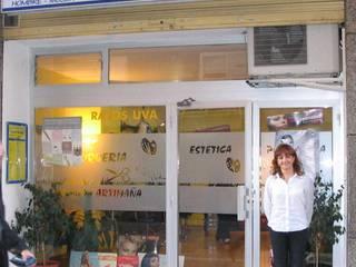 Peluqueria Oficinas y tiendas de estilo moderno de Reformas El Mago Moderno