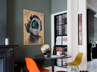 Eclectic style dining room by FORM MAKERS interior - concept - design Eclectic