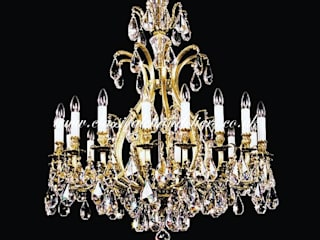 Ceiling Chandeliers -Classic Brass Cage Classical Chandeliers Living roomLighting
