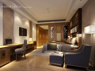 Modern style bedroom by Axis Architects for architecture and interior design Modern