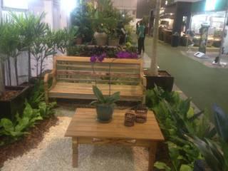 Mostra de Paisagismo Expo Paisagismo 2017 Jardins rústicos por Edu Leal Paisagismo Rústico