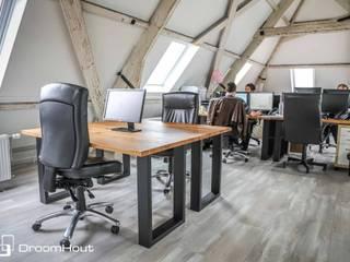 Makeover voor makelaar Amsterdam Moderne kantoor- & winkelruimten van DroomHout Modern