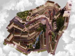 Sibel GÜNAY Tasarımimarlik – İzmit Terrace Kentsel Dönüşüm Projesi:  tarz Dükkânlar