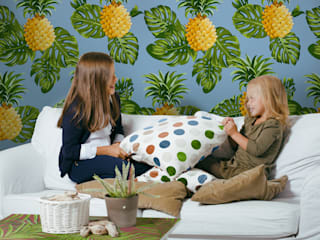 Pineapple Fever Pixers Living room Multicolored