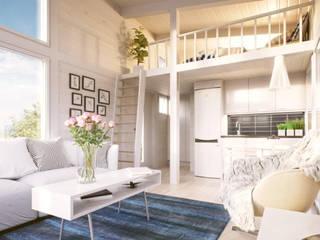 Tiny House design woning uit Finland van Scandivik Buitenleven Scandinavisch