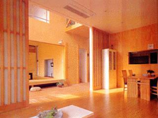 秦野Alley モダンデザインの リビング の 一級建築士事務所 サイコ モダン
