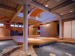 流山O邸Ⅰ モダンスタイルの 玄関&廊下&階段 の 一級建築士事務所 サイコ モダン