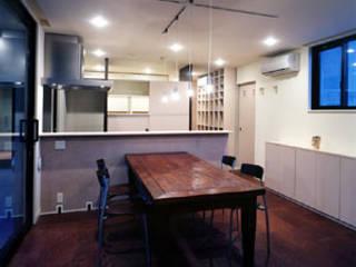 目白台の家 モダンデザインの ダイニング の 一級建築士事務所 サイコ モダン