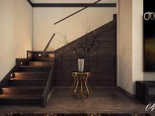 La Nouva Residence Modern Corridor, Hallway and Staircase by Ori - Architects Modern