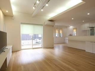 リビング ダイニング キッチン: 吉田設計+アトリエアジュールが手掛けたリビングです。