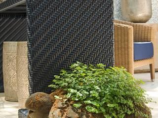 Interart Design de Interiores Jardines de invierno de estilo moderno Caliza Negro