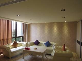 品味溫馨舒適機能性規劃:  臥室 by 登品空間規劃工程有限公司