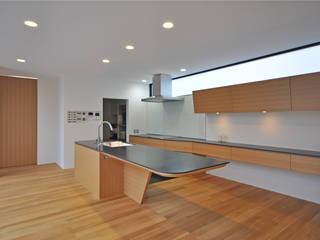 富山のS邸: 辻谷誠建築研究所が手掛けたキッチンです。
