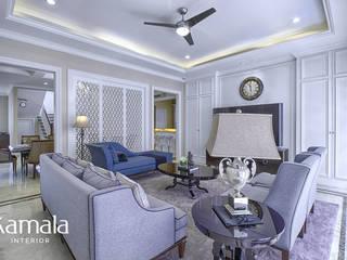 American Classic home Kamala Interior Ruang Keluarga Klasik