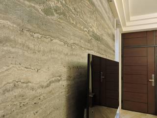 品味好宅精緻裝潢:  客廳 by 登品空間規劃工程有限公司