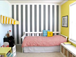 homify.co.id Minimalist walls & floors Yellow