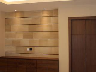 غرفة المعيشة تنفيذ Paradigm Design House