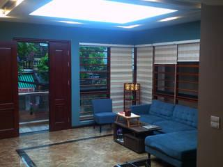 Thi công nội thất biệt thự tại Tp.Thanh Hóa: công nghiệp  by Công ty TNHH Thiết kế và Ứng dụng QBEST, Công nghiệp