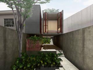 現代房屋設計點子、靈感 & 圖片 根據 CEU Arquitetos 現代風