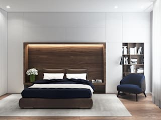 Bedroom by Yurov Interiors,