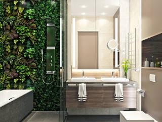 Yurov Interiors Modern bathroom