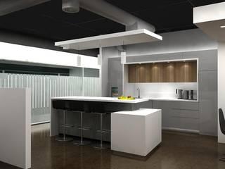 REMODELACION COCINA CARDIF: Cocinas equipadas de estilo  por AOG SPA